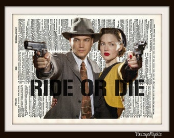 Bonnie and Clyde Dictionary ART