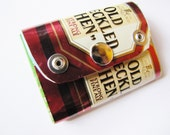 Old Speckled Hen English Beer Ale Small Pocket sized Eco Friendly Purse Wallet