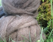 Taupe Romney Roving- 2 oz