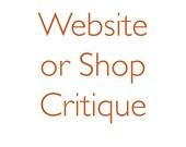 Critique - Etsy Shop or Website - One Aspect