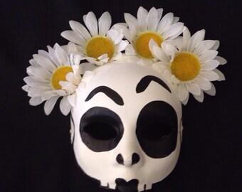 Pre Season Sale Day of the Dead, Halloween, Sugar Skull Mask