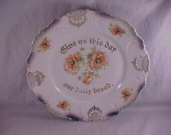 Bavaria Porcelain Bread Plate