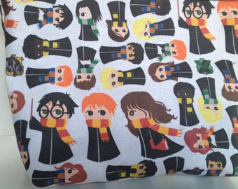 Witches and Wizards Drawstring Bag