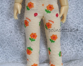 Super Dollfie Yo SD Littlefee Yellow Flower Leggings