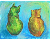 Two Cats After van Gogh, Prints
