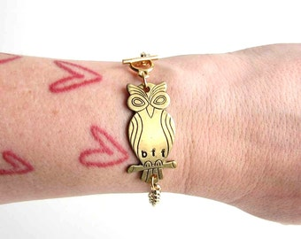 owl bff bracelet - best friend jewelry