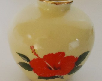 The Japanese Vintage Vase. 70s. Recued from an old japanese house