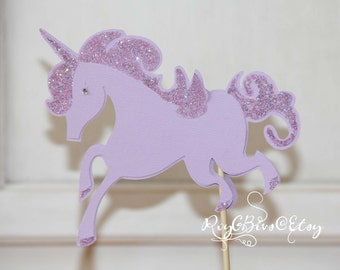 Unicorn Cake Topper - Customized for you!