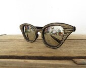 RESERVED for Anna-Lisa / vintage 1950s 50s cat eyed sunglasses