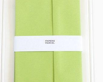 A7 Sour Apple Envelopes - 10