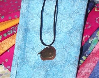 Primitive Style Whale Necklace
