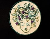 Mother Earth Iron on Patch- 2 sizes