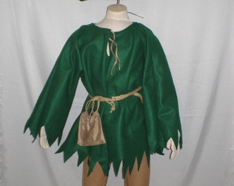 New Complete Children Robin Hood / Peter Pan Costume Various Sizes