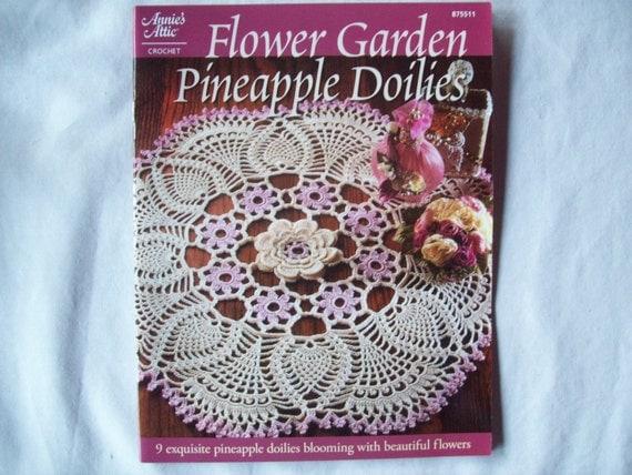 Flower Garden Pineapple Doilies, Annies Attic 875511, Thread Crochet ...