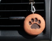 Car vent oil diffuser - Dog paw; Rescue; Adopt; essential oil; car freshener ; air freshener