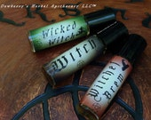 WITCHES Alquemie Perfume Potion Oil DELUXE Roll-On Sampler Gift Set