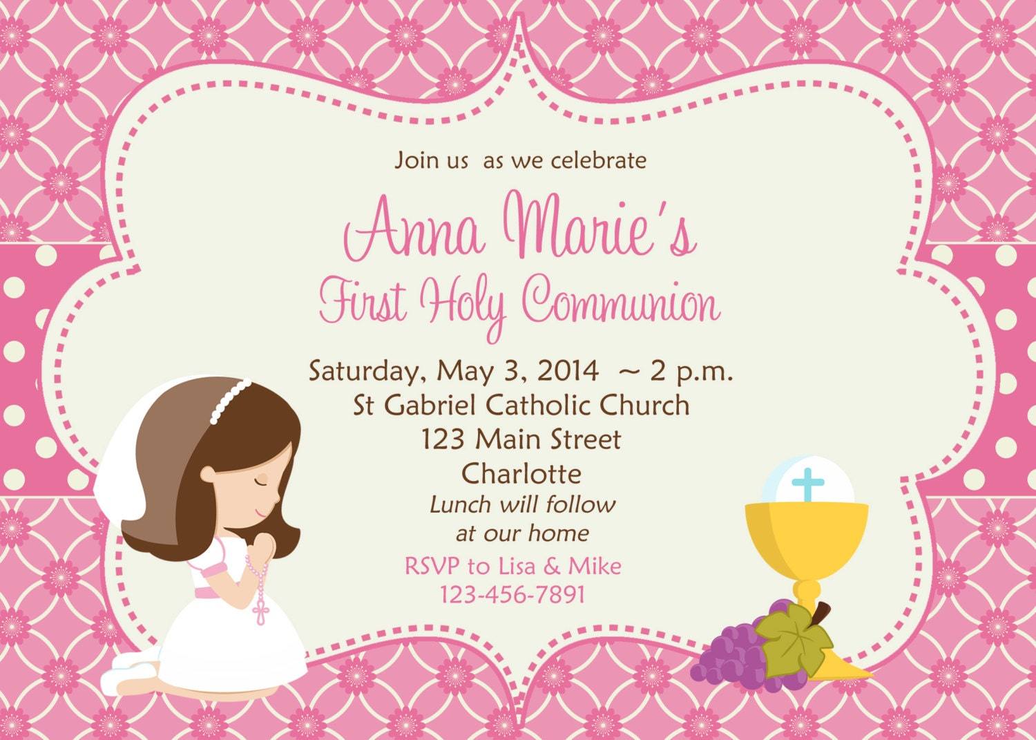 Baptismal Invitation Message with perfect invitations ideas