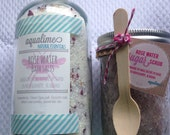 All Natural Spa Salt and Sugar Scrub Gift Set-Choose your scent