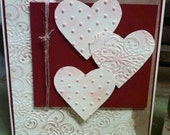 Hand crafted Valentine's Card