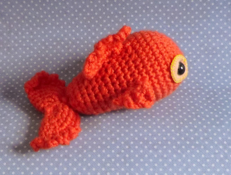 Free Amigurumi Halloween Crochet Patterns : Bob the goldfish amigurumi PDF crochet patterrn