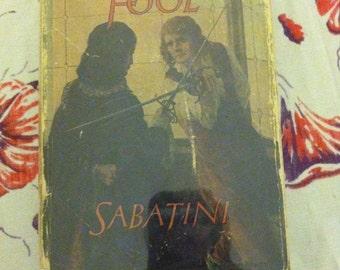 Fortunes Fool vintage hardback book popular author Rafael Sabatini 1923