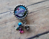 CUSTOM Name Badge reel