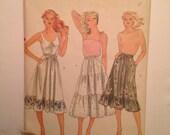 1980's Vogue Skirt Pattern
