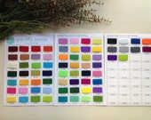 1 Meter - 3mm Thick Polyester Felt Fabric - 70 Colors for choice