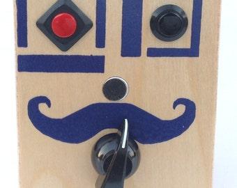Mr. Purple (Mustache) - Voice Recorder with Pitch Control Knob