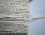 Lace Beige  1/4 inch Wide Lingerie Baby Dolls Lace ONLY 8 yds 783