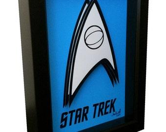 Star Trek Poster Art Symbol Insignia Spock 3D Pop Art Print Vulcan