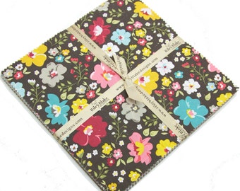 """Unforgettable 10"""" squares Stacker by Jen Allyson of RBD Designers for Riley Blake, 21 pieces"""