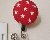 Swivel Clip Badge Reel in Roller Derby