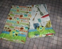 Cottage Chic Decorative Kitchen Tea Towels (Set of 2)