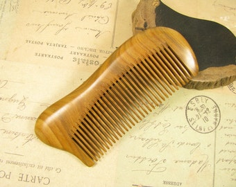 Fragrant Verawood Fine Teeth Hair Comb