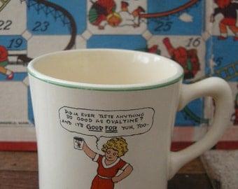 Vintage Little Orphan Annie Mug with Sandy