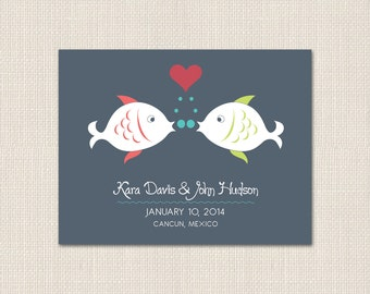FISH KISS Save the Date - DEPOSIT