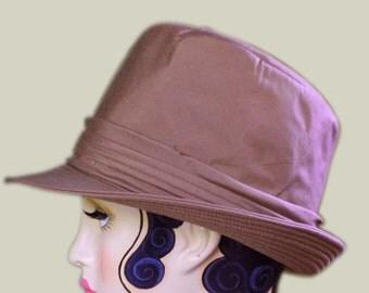 Vintage Gina Brown brimmed Hat