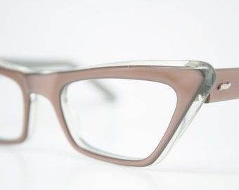 Cat Eye Glasses Vintage Cateye Frames 1950s Eyeglasses