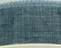 "1.5""  Denim Blue Denim Ribbon, 5 Yards or 10 Yard Lengths Available, Deco Mesh Supplies"