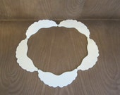 Angel Wing Cut Outs Made From Wood - Lot Of 5