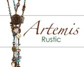 Designs-Bead Pattern and Kit-Artemis-Rustic-Lariat