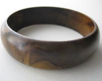 Imbuia Bangle Bracelet