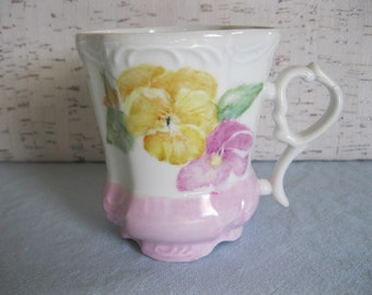 Victorian Style Footed Coffee or Tea Cup