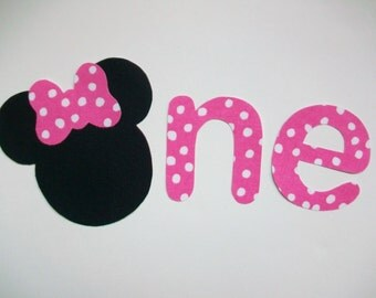 DIY No-Sew - Minnie Mouse Applique - Iron On