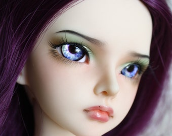 BJD eyes available in 12/14/16/18/20/22/24mm Lavender Lullaby made to order