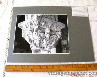 French St. Pierre Cathedral France Original Photograph  Architectural Photo UC Berkeley Capital of Column