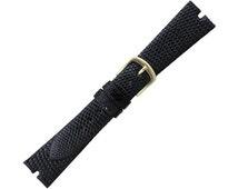 Hadley Roma Gucci Cut Genuine Java Lizard   Watch Band, ( Black or Brown )