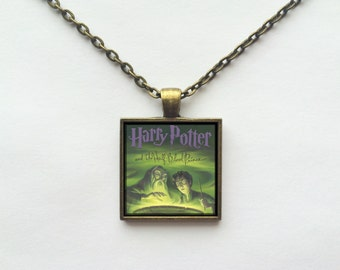 Harry Potter and the Half Blood Prince Book Cover Necklace OR Keychain