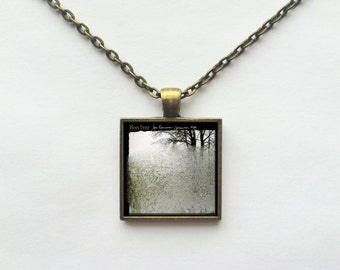 Bon Iver - For Emma, Forever Ago Album Cover Necklace OR Keychain